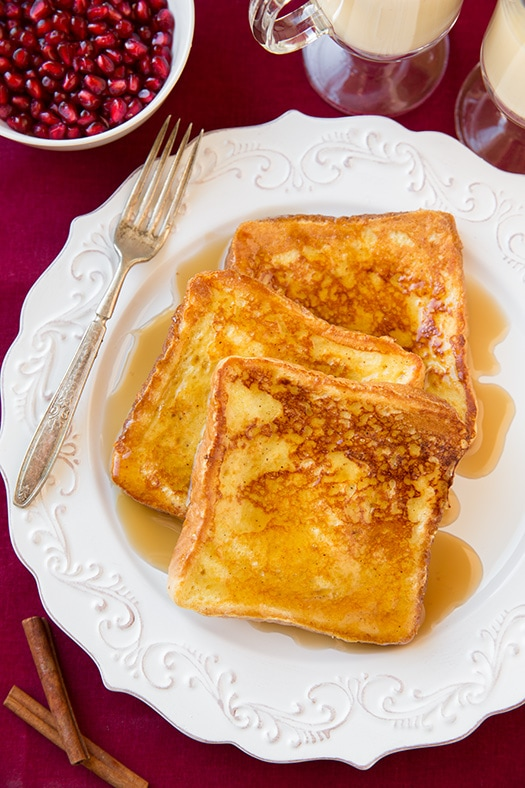 Eggnog French Toast | Cooking Classy