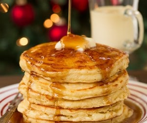 Eggnog Pancakes | Cooking Classy