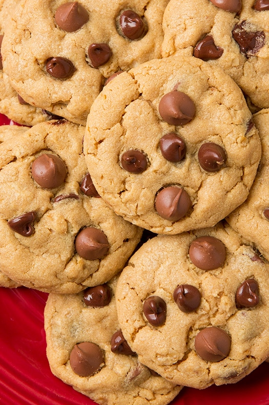 Peanut Butter Oatmeal Chocolate Chip Cookies | Cooking Classy