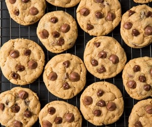 Peanut Butter Oat Chocolate Chip Cookies | Cooking Classy