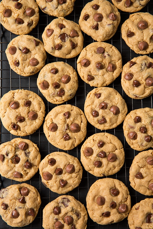Peanut Butter Oatmeal Chocolate Chip Cookies - Cooking Classy