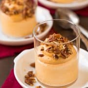 Praline Pumpkin Mousse | Cooking Classy