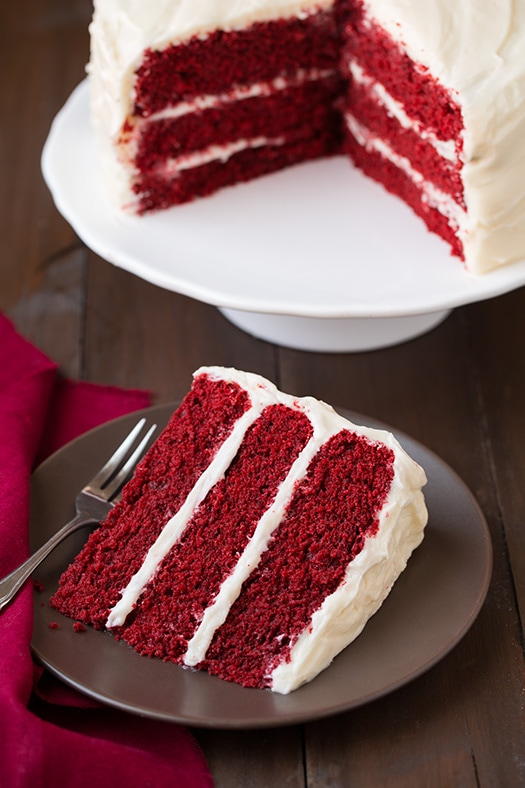 Share On Pinterest Red Velvet Cake With Cream Cheese Frosting
