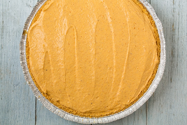 Turtle Pumpkin Pie {No Bake!} | Cooking Classy