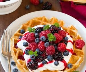 Belgian Waffles | Cooking Classy