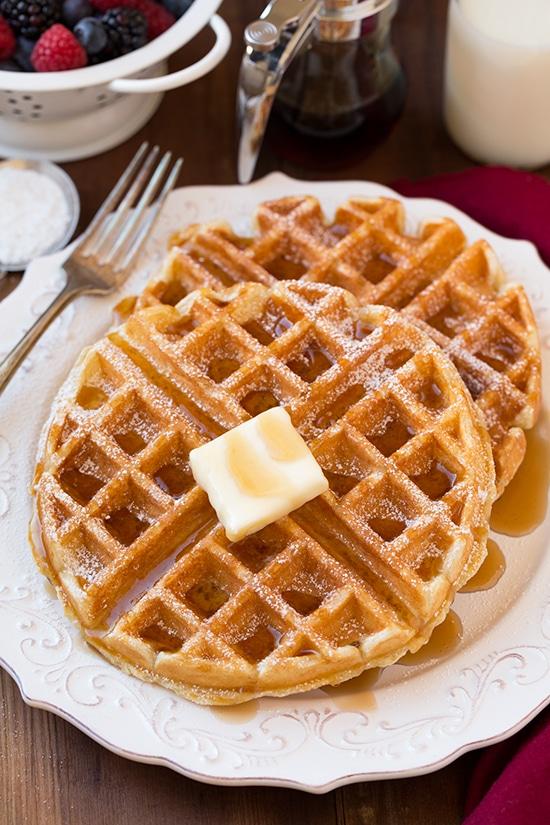 Belgian Waffles Cooking Classy