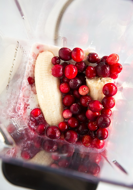 Cranberry Pomegranate Smoothies | Cooking Classy