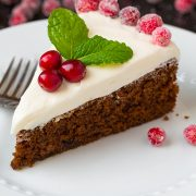 Gingerbread Cake with Cream Cheese Frosting | Cooking Classy