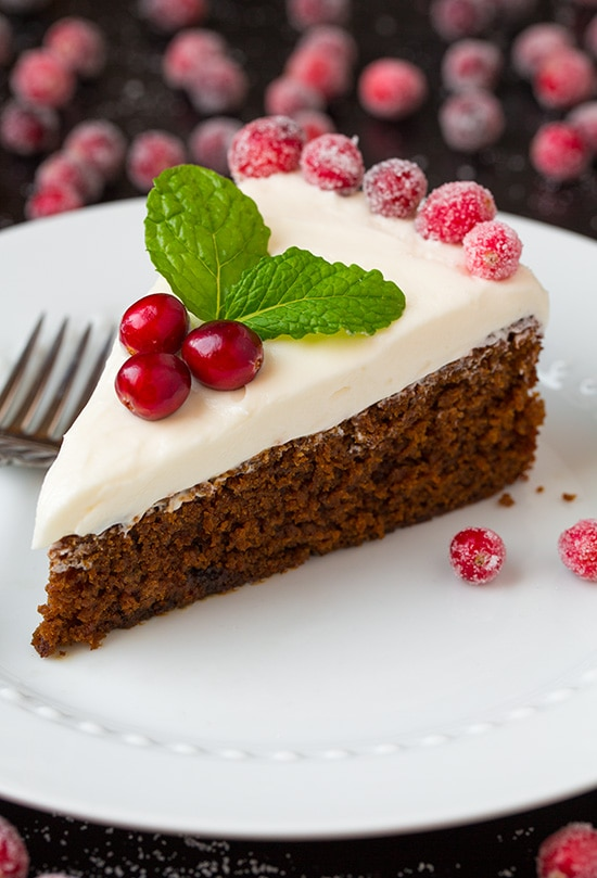Gingerbread Cake with Cream Cheese Frosting | Cooking Classy ...