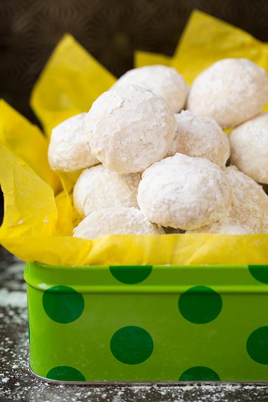 Lemon Snowball Cookies Cooking Classy