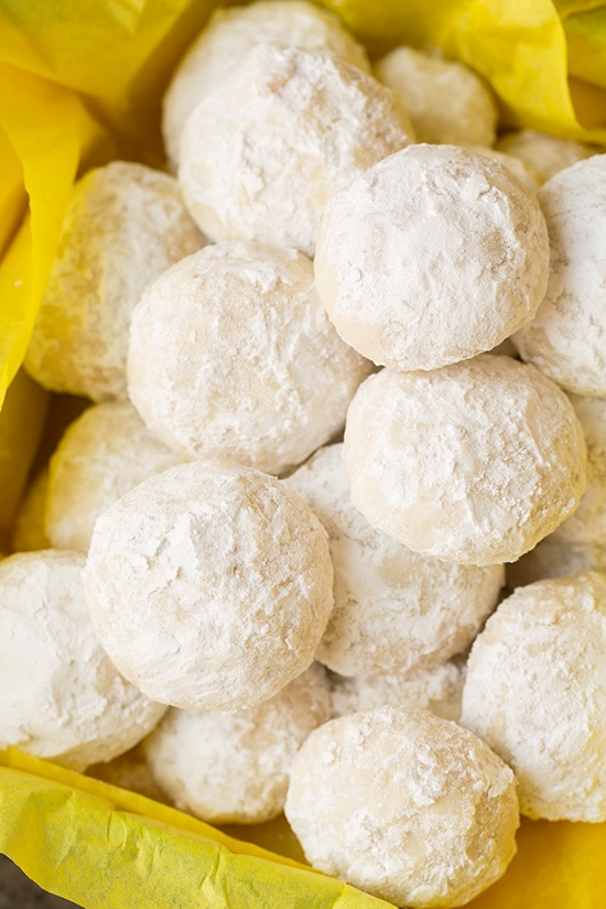 Lemon Snowball Cookies | Cooking Classy