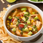 Slow Cooker Chicken Tortilla Soup | Cooking Classy