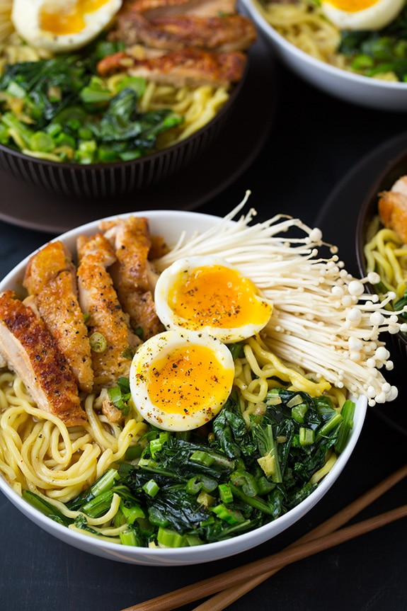 Chicken Ramen with Blue Apron | Cooking Classy