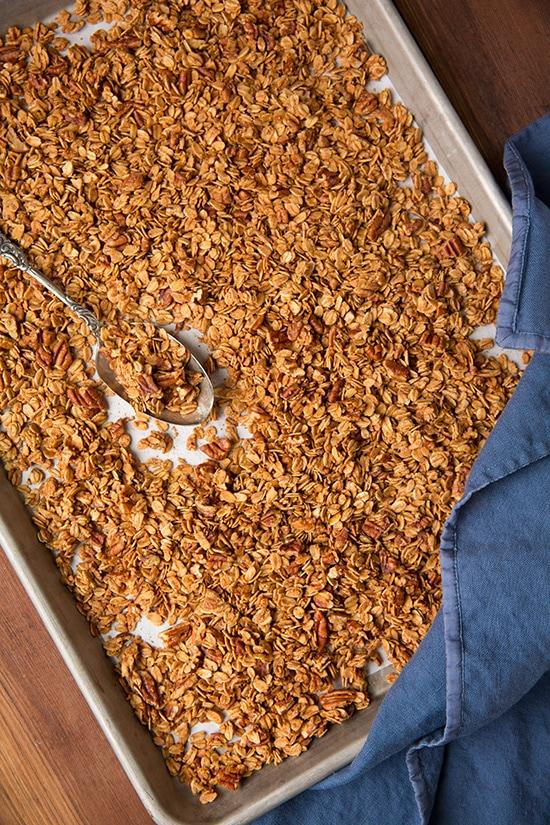 Maple Pecan Granola | Cooking Classy