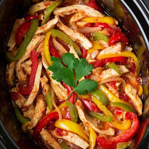 Slow Cooker Chicken Fajitas Cooking Classy