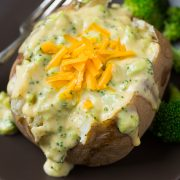 Broccoli Cheese Baked Potatoes | Cooking Classy