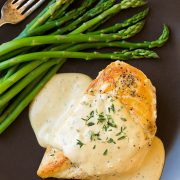 Skillet Chicken with Mustard Cream Sauce | Cooking Classy