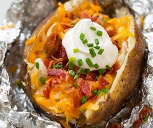 Slow Cooker Baked Potatoes | Cooking Classy