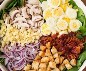 Spinach Salad with Warm Bacon Dressing   Cooking Classy