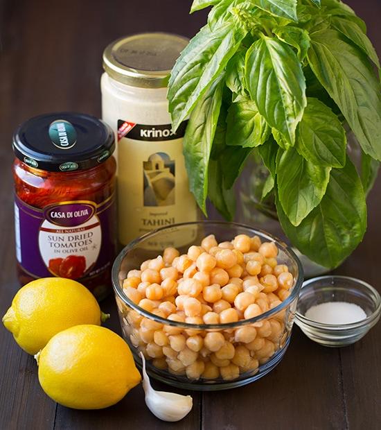 Sundried Tomato Basil Hummus | Cooking Classy