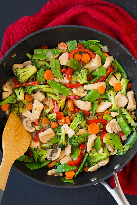 Chicken and Vegetable Stir Fry | Cooking Classy