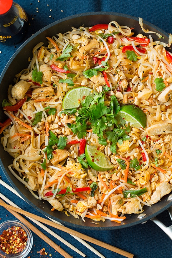 Chicken pad thai cooking classy chicken pad thai cooking classy forumfinder Image collections
