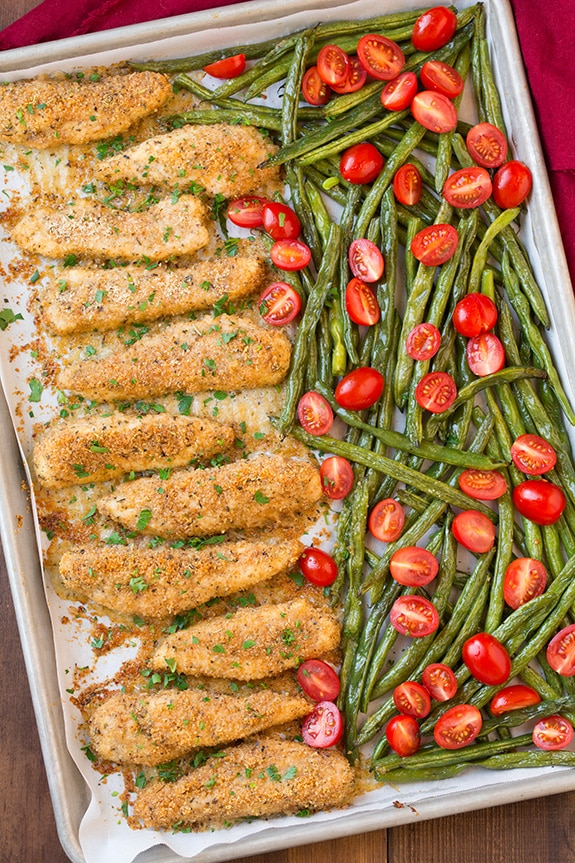 chicken with green beans recipe