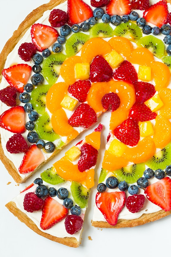 healthy fruit pizza recipe fresh fruit salad