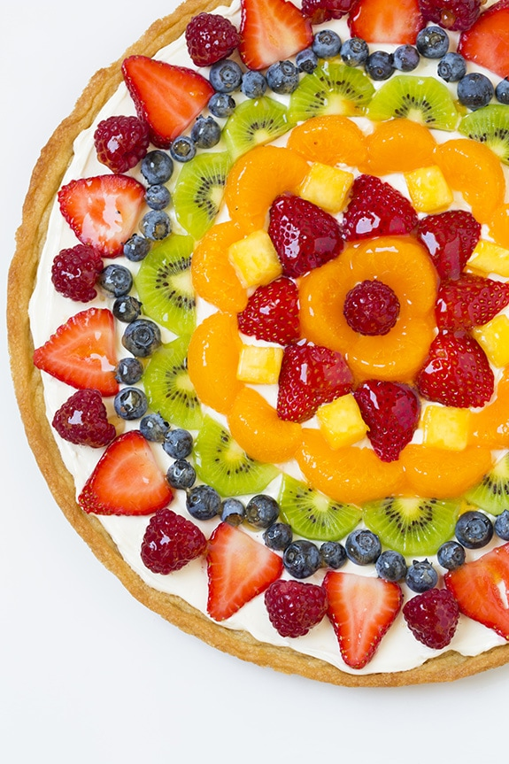 Fruit Pizza Easy Recipe With Cream Cheese Frosting Watermelon Wallpaper Rainbow Find Free HD for Desktop [freshlhys.tk]