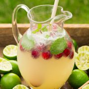 Sparkling Honey Limeade | Cooking Classy