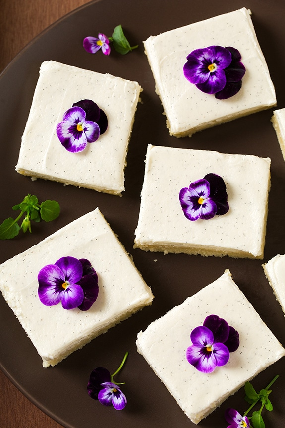 Vanilla Bean Sugar Cookie Bars | Cooking Classy
