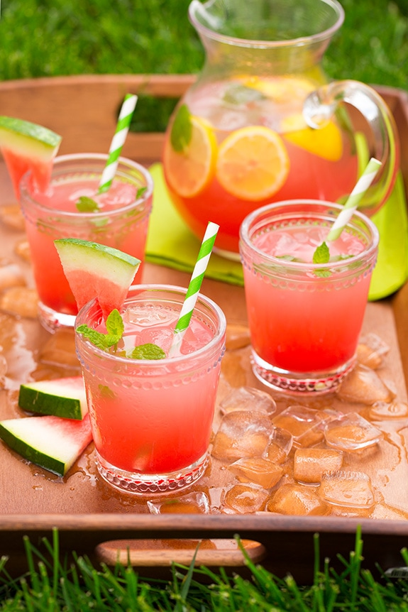 Watermelon Lemonade Cooking Classy