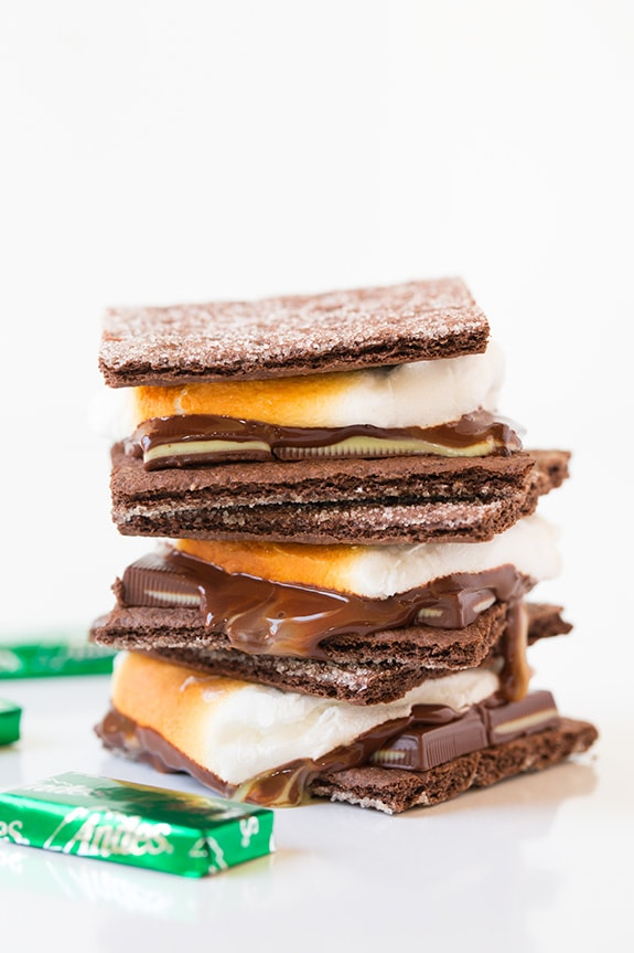 Andes Mint S'mores | Cooking Classy