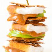 Caramel Apple Pretzel S'mores | Cooking Classy