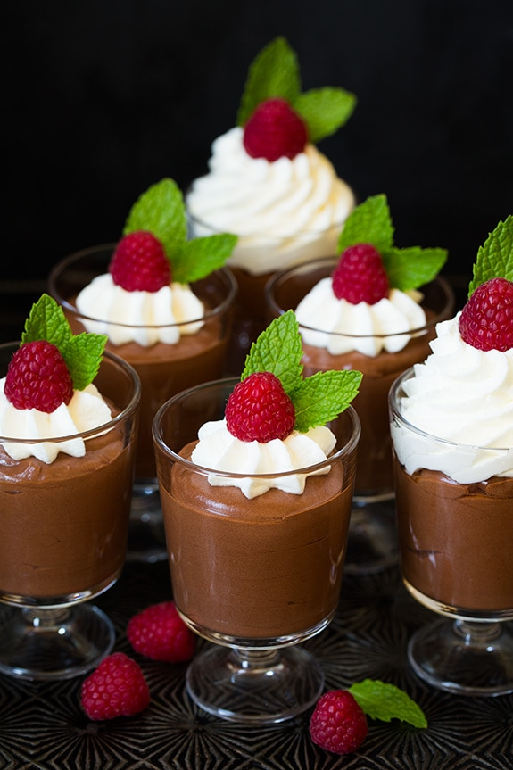 Easy Chocolate Mousse | Cooking Classy
