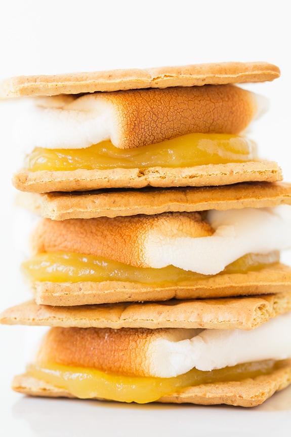 Lemon Meringue Pie S'mores | Cooking Classy