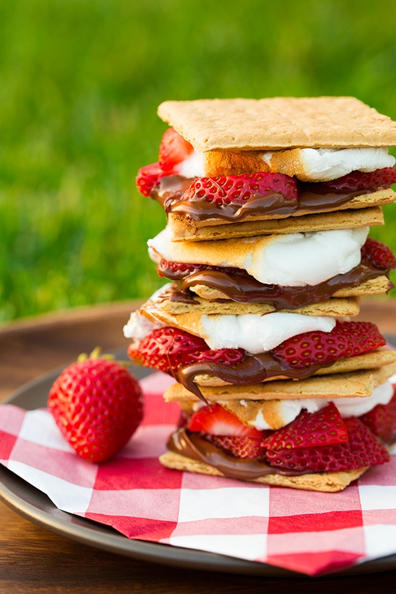 Strawberry S'mores | Cooking Classy