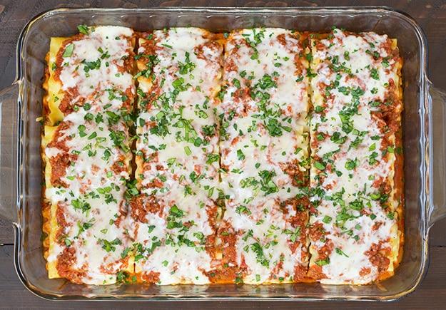 Lasagna Roll Ups | Cooking Classy
