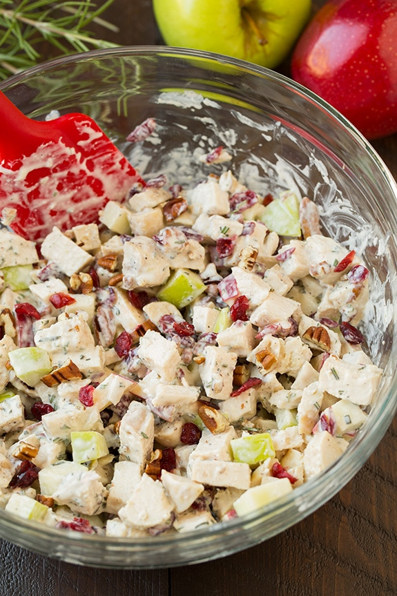 Apple Pecan And Rosemary Chicken Salad Cooking Classy