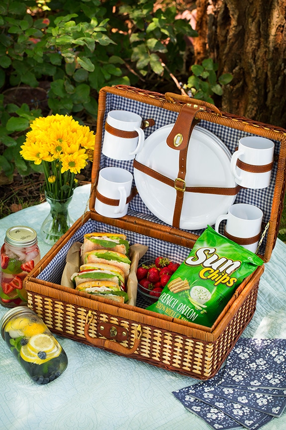 A Summer Picnic with Sun Chips