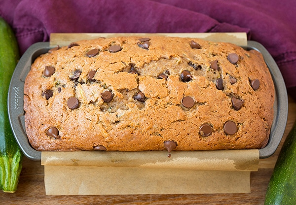 Zucchini Chocolate Chip Bread | Cooking Classy