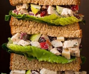 Apple Pecan Rosemary Greek Yogurt Chicken Salad | Cooking Classy