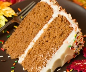 Cooking Classy Autumn Spice Cake