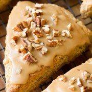 Maple Oat Pecan Scones | Cooking Classy