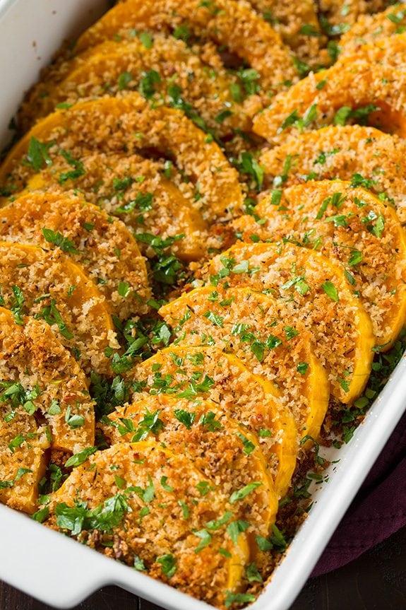 Parmesan Butternut Squash Gratin | Cooking Classy