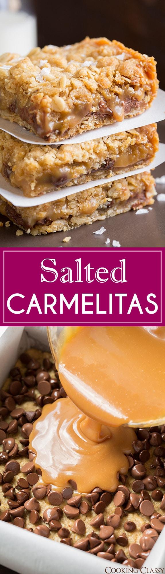 Salted Carmelitas | Cooking Classy