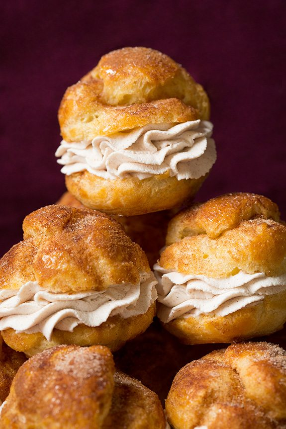 Churro Cream Puffs | Cooking Classy