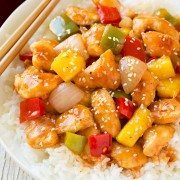 Lighter Sweet and Sour Chicken | Cooking Classy