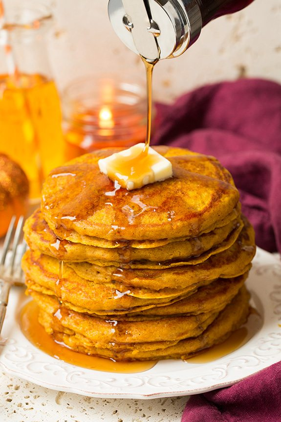 The Best Pumpkin Pancakes Cooking Classy
