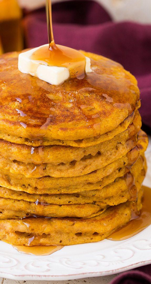 Pumpkin Pancakes | Cooking Classy